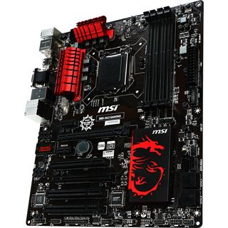 MSI B85-G43 GAMING Intel B85 So.1150 Dual Channel DDR3 ATX Retail