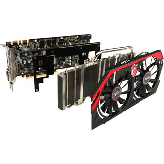 2GB MSI GeForce GTX 770 Twin Frozr Gaming Aktiv PCIe 3.0 x16 (Retail)