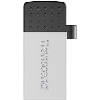 32 GB Transcend JetFlash 380S silber USB 2.0