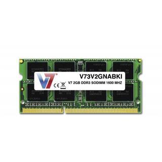 2GB V7 V73V2GNABKI DDR3-1600 SO-DIMM CL11 Single