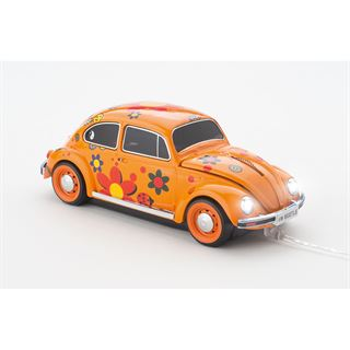 Sunny Trade VW Beetle Flower Power USB orange (kabelgebunden)