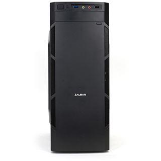 Zalman T1 Plus Mini Tower ohne Netzteil schwarz