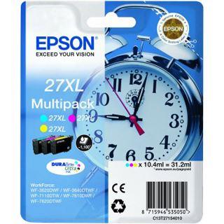 Epson Tinte 27 XL C13T27154010 cyan, magenta, gelb