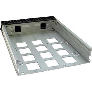 """Inter-Tech VT-213 2x 5,25"""" Wechselrahmen für 3x 3.5"""" und 2,5"""" Festplatten (88887087)"""
