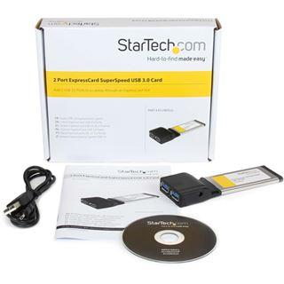 Startech ECUSB3S22 2 Port Express Card 34 retail