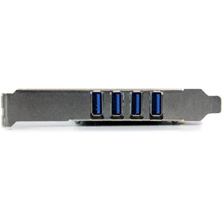 Startech PEXUSB3S44V 4 Port PCIe x4 inkl. Low Profile Slotblech retail