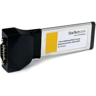 Startech EC1S232U2 Seriell 1 Port Express Card 34 retail