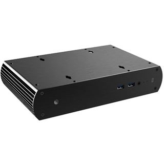 Akasa Tesla H-OEM Mini-ITX ohne Netzteil schwarz
