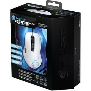 Roccat Kone Pure USB weiß (kabelgebunden)