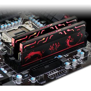 16GB Avexir Blitz 1.1 MSI GD-Gaming rote LED DDR3-1866 DIMM CL11 Dual Kit