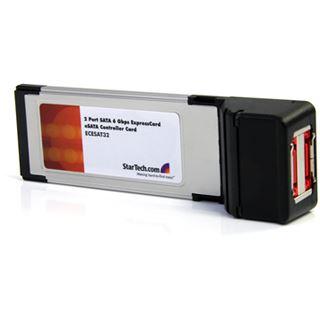 Startech ECESAT32 eSATA 6Gb/s 2 Port Express Card 34 retail