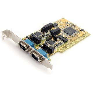 Startech PCI2S232485I RS232/422/485 Seriell 2 Port PCI retail