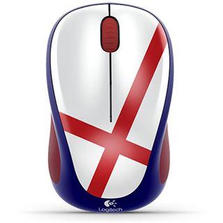 Logitech M235 WM Edition England USB blau/rot/weiß (kabellos)