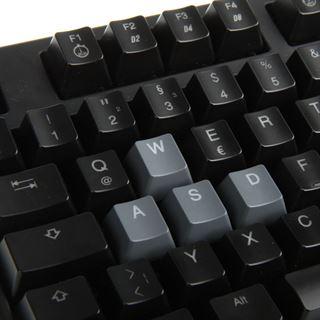 Ducky Shine 3 weiße LED MX Brown CHERRY MX Brown USB Deutsch schwarz (kabelgebunden)