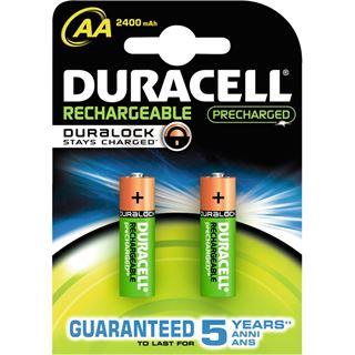 Duracell Ultra HR6 Nickel-Metall-Hydrid AA Mignon Akku 2500 mAh 2er Pack