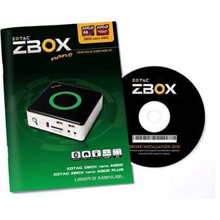 ZOTAC ZBOX NANO AQ02 Barebone ohne Fernbedienung