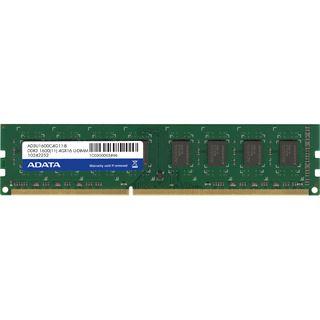 4GB ADATA Premier Series DDR3-1600 DIMM CL11 Single