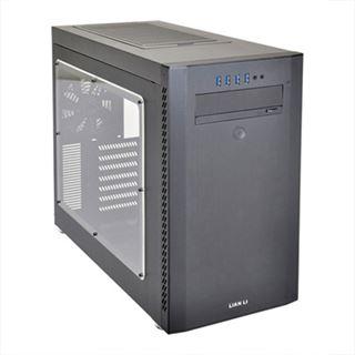 Lian Li PC-A51WX schwarz mit Sichtfenster Midi Tower ohne Netzteil