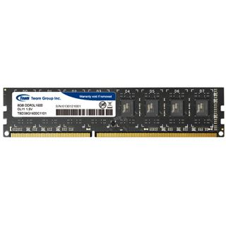 8GB TeamGroup Elite Series DDR3L-1600 DIMM CL11 Single