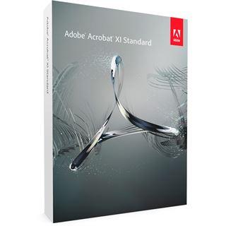 Adobe Acrobat XI Standard 32/64 Bit Multilingual Office OEM PC (DVD)