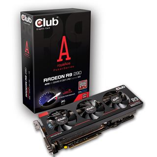 4GB Club 3D Radeon R9 290 royalAce Aktiv PCIe 3.0 x16 (Retail)