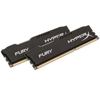 16GB HyperX FURY schwarz DDR3-1866 DIMM CL10 Dual Kit