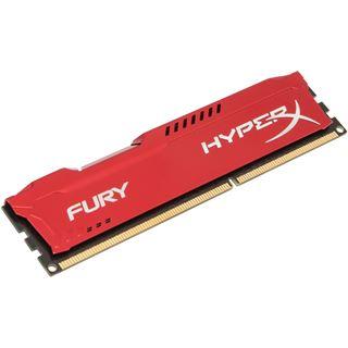 4GB HyperX FURY rot DDR3-1866 DIMM CL10 Single