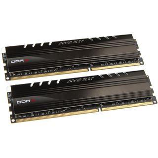 16GB Avexir Core Series blaue LED DDR3-2400 DIMM CL11 Dual Kit