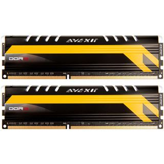 8GB Avexir Core Series MPOWER rote LED DDR3-2666 DIMM CL12 Dual Kit