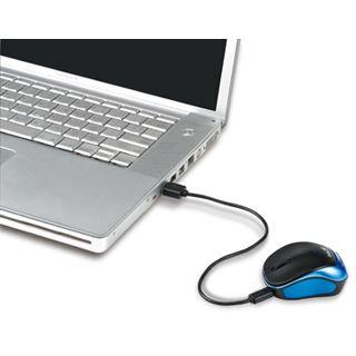 Genius Micro Traveler 9000R USB schwarz/blau (kabellos)