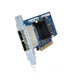 QNAP SAS-Erweiterungskarte für NAS (SAS-6G2E-D)