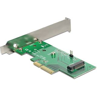 Delock 89370 1 Port PCIe 3.0 x4 inkl. Low Profile Slotblech / Low Profile retail