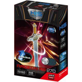 2GB HIS Radeon R9 270 iCooler Boost Clock Aktiv PCIe 3.0 x16 (Retail)