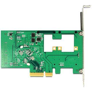 Delock 89372 4 Port PCIe 2.0 x4 inkl. Low Profile Slotblech / Low Profile retail