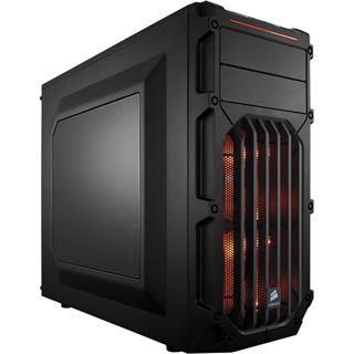 Corsair Carbide SPEC-03 LED orange mit Sichtfenster Midi Tower ohne Netzteil schwarz/orange