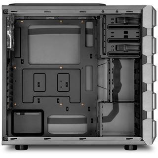 Sharkoon BD28 Gunmetal mit Sichtfenster Midi Tower ohne Netzteil Gunmetal