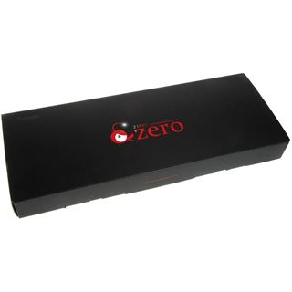 Ducky Zero Zone blaue LED CHERRY MX Blue USB Deutsch schwarz (kabelgebunden)