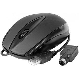 Dacomex 225113 PS/2 & USB schwarz (kabelgebunden)