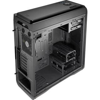 AeroCool DS 200 Lite Black Edition Midi Tower ohne Netzteil schwarz