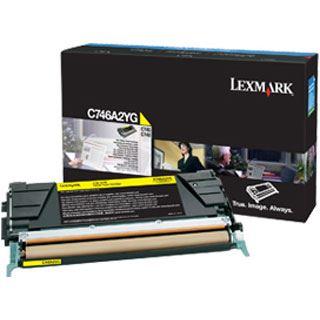 Lexmark Toner C746,C748 gelb