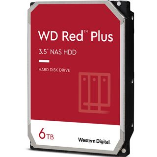 """6000GB WD Red WD60EFRX 64MB 3.5"""" (8.9cm) SATA 6Gb/s"""