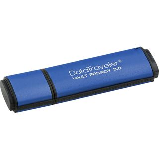 4 GB Kingston DataTraveler Vault Privacy 3.0 blau USB 3.0
