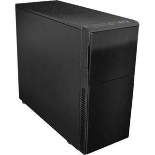Nanoxia Deep Silence 3 gedämmt Midi Tower ohne Netzteil schwarz