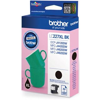 Brother Tinte LC227XLBK schwarz