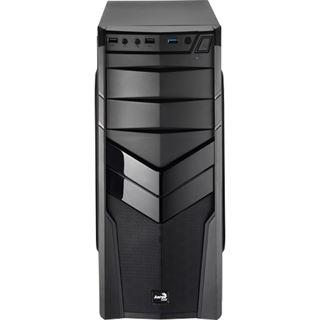 AeroCool V2X Black Edition Midi Tower ohne Netzteil schwarz