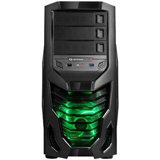 Raidmax Cobra Midi Tower ohne Netzteil schwarz