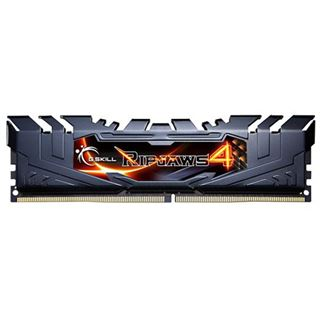 16GB G.Skill RipJaws 4 schwarz DDR4-2400 DIMM CL15 Quad Kit