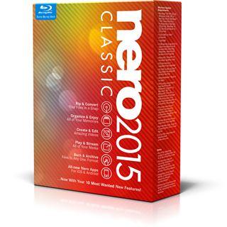 Nero 2015 Classic 32/64 Bit Deutsch Brennprogramm Vollversion PC (CD/DVD)