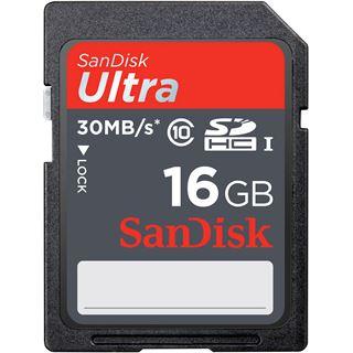 16 GB SanDisk Ultra SDHC UHS-I Retail