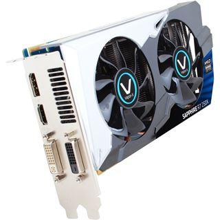 2GB Sapphire Radeon R7 250X Vapor-X GHz Edition Aktiv PCIe 3.0 x16 (Retail)